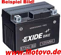 Exide Gel-Batterien