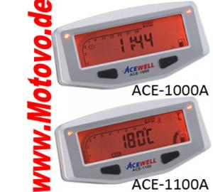 Acewell Digitalinstrument ACE-1000AS, Schwarz