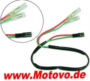 LED Blinker Adapterkabel für Honda ab Bj. 2004